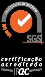 Certificado de Confirmidade SGS