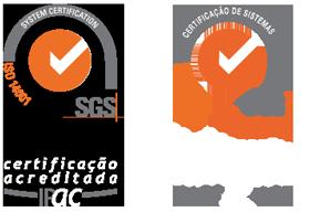 Certificado de Conformidade SGS